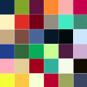 Spectrum Solid Dyed 100% Cotton Fabric Makower