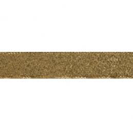 7mm x 6m All Metallic Wire Edge Ribbon Shiny Celebration