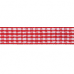Gingham Polyester 20mm x 4m Craft Ribbon Multi Colour Celebration