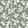 100% Cotton Poplin Fabric Rose & Hubble Petals Flowers Floral Hill Valley Lane