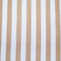 Stone Polycotton Fabric Stripe 12mm Candy Stripes