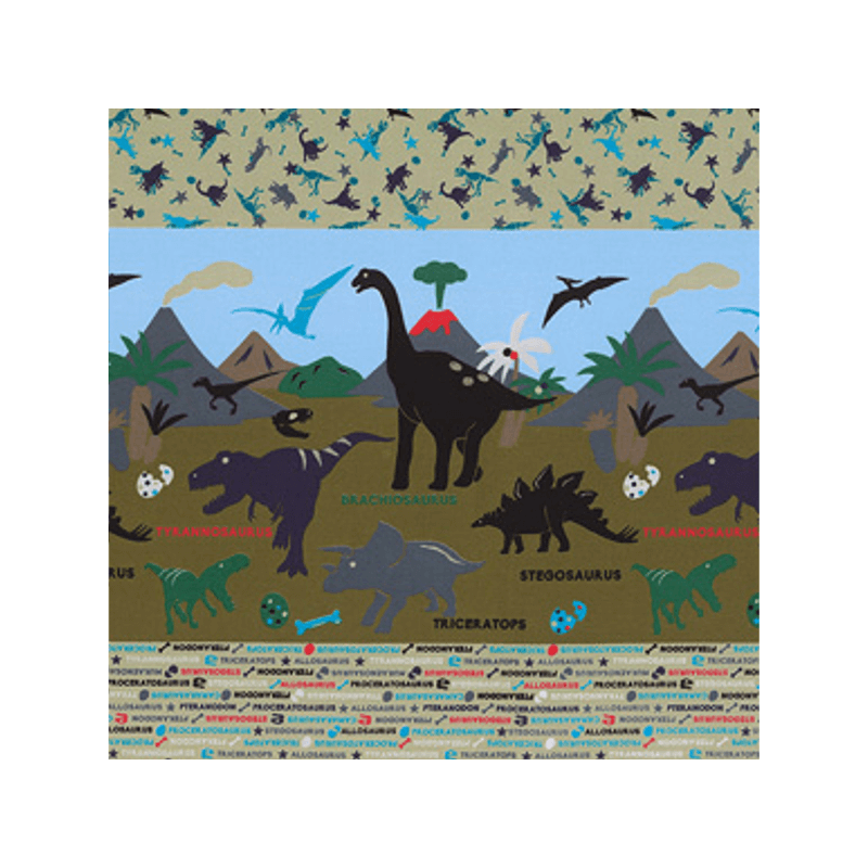 Olive Dinosaurs Border With Names