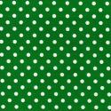 Emerald Green Polycotton Fabric Oh Sew 4mm Polka Dots Spots Spotty
