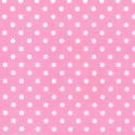 Pink Polycotton Fabric Oh Sew 4mm Polka Dots Spots Spotty
