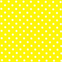 Yellow Polycotton Fabric Oh Sew 4mm Polka Dots Spots Spotty