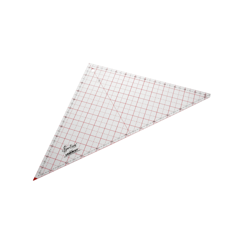 """12.5"""" Sew Easy Patchwork Quilting Ruler Template Triangle"""