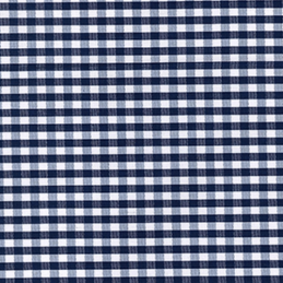 3mm Gingham Squares Polycotton Shirting Dressmaking Fabric