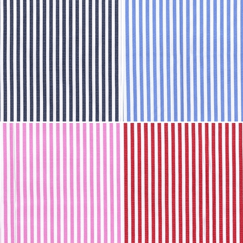 3mm Stripes Lines Polycotton Shirting Dressmaking Fabric