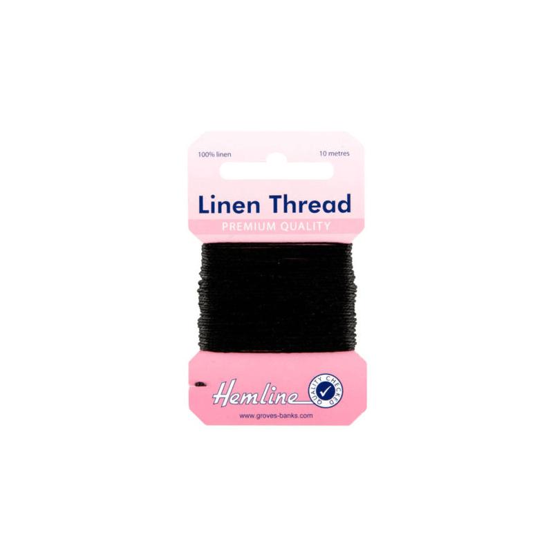 Hemline 10m Linen Sewing Thread Premium Quality Upholstery Canvas Yarn