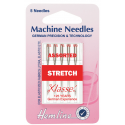 Hemline Stretch Sewing Machine Needles Klasse Elastic or Lycra Fabrics