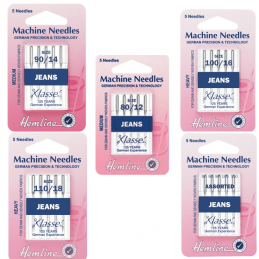 Hemline Jeans Sewing Machine Needles Klasse Denim