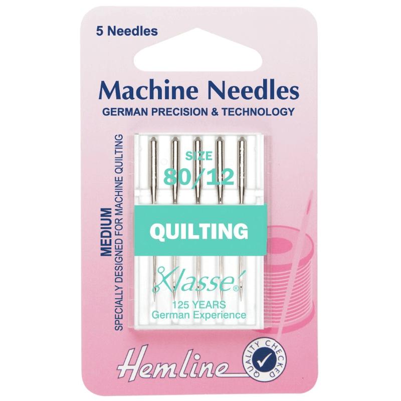 Hemline Quilting Machine Needles Various Styles And Types