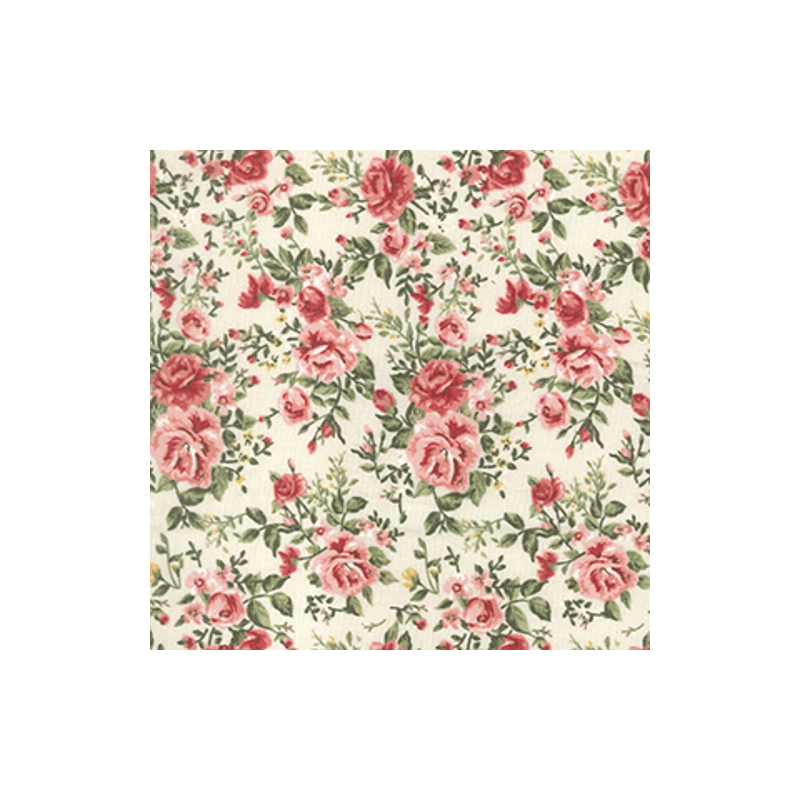Christmas Rose /& Hubble Fabric Gingham Patchwork Stags Hearts Design 100/% Cotton