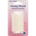 Hemline 1000m 100% Spun Polyester 40/2 Sewing Thread Spool Machine