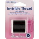 Hemline 200m Invisible Thread Smoke 100% Nylon Sewing