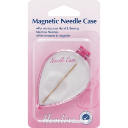 Hemline Needle Case Magnetic Hand & Machine Threader Sewing