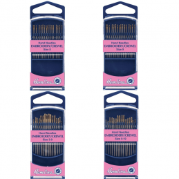 Hemline Premium Embroidery/Crewel Hand Sewing Needles In Various Sizes