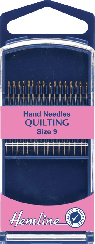 Hemline Premium Quilting Hand Sewing Needles In Various Sizes