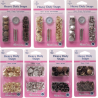 Hemline 15mm Heavy Duty Snaps Poppers Press Studs Starter Kit Or Refills Packs