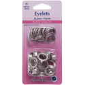 Hemline 24 x 10.5mm Eyelets Refill Pack Gold or Silver