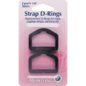 Hemline 25mm or 32mm D Rings 2 Pack Strap Webbing Bags Luggage Camping
