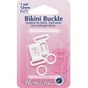 Hemline 1 Set x 12mm Bikini Buckle Fastener Swimwear Bra Clasp