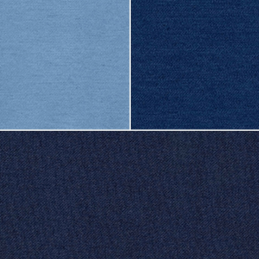 Plain Stretch Denim Fabric Cotton Poly Spandex Mix Material