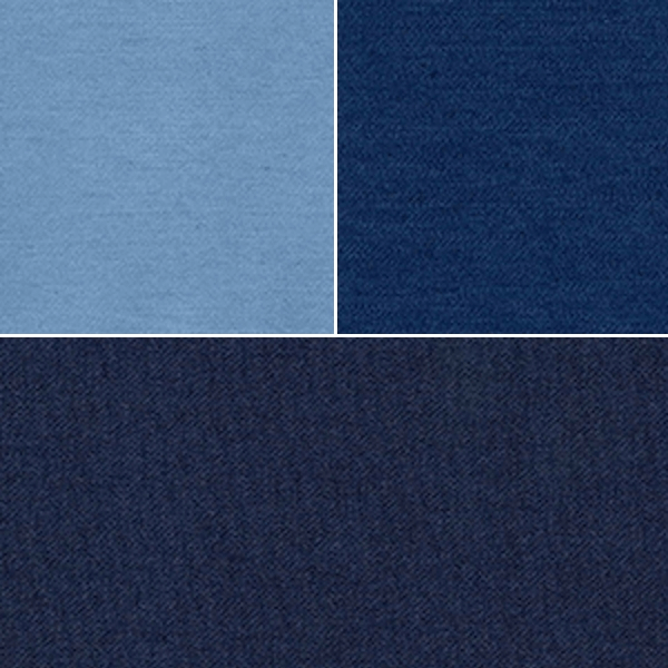 Medium Denim Plain Stretch Denim Fabric