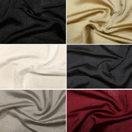 Plain Coloured Yoryu Cationic Chiffon 100% Polyester Dressmaking Lining Fabric