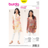 Misses Tunic or Blouse in Two Lengths Burda Sewing Pattern 6683