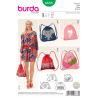 Bucket Bag Sport Leisure Burda Sewing Pattern 6688