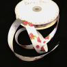 Bertie's Bows 16mm Bright Budding Roses Print Grosgrain Craft Ribbon