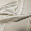 Ivory Soft Touch Satin Fabric Silk Look & Feel Spandex Stretch
