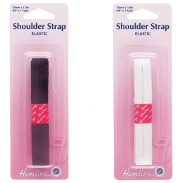Hemline Elastic Shoulder Strap 1.5 x 15mm