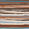 Painted African Tribal Stripes 100% Cotton Patchwork Fabric (Inprint)