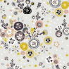 Folk Floral Flower Burst Stars 100% Cotton Patchwork Fabric (Inprint)