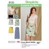 Misses Learn To Sew Wrap Skirt Simplicity Sewing Pattern 8133