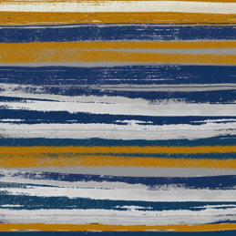 Painted Art Stripes Lines 100% Cotton Patchwork Fabric (Inprint)
