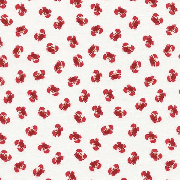 Mini Crabs Sea Life Creatures Scatter Toss 100% Cotton Patchwork Fabric