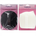 Hemline Shoulder Pads For Shirt/Blouse Medium In White