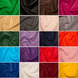 Plain Coloured Handicraft Felt Wool Viscose Craft Fabric Material 90cm Wide