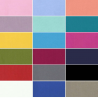 Plain Solid Coloured 100% Yarn Dyed Cotton Fabric (144cm Wide)