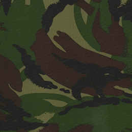 Jungle Army Camouflage PVC PU Coated 100% Polyester Water Repellent Fabric