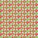 Green Sale Fabric Freedom 100% Cotton Fabric Funky Christmas Pudding Spots Xmas