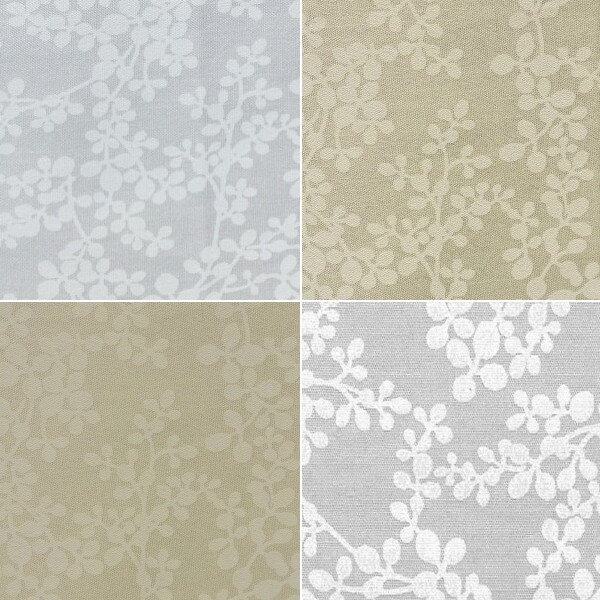 100/% Cotton Fabric Paiste Floral White on Grey Blenders Fabric Freedom