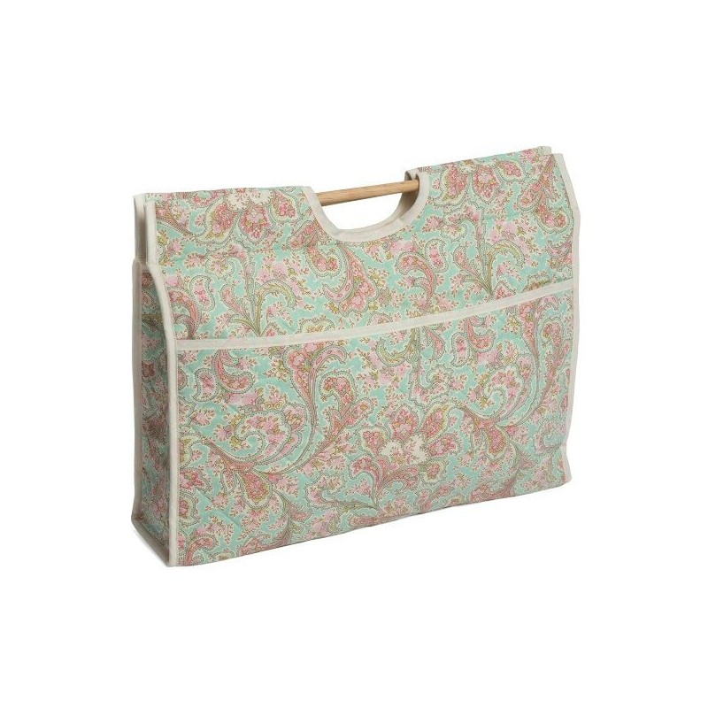 Paisley Pattern Classic Sewing Knitting Craft Bag