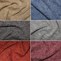 Plain Coloured Angora Acrylic Nylon Polyester Knit Dress Fabric Material
