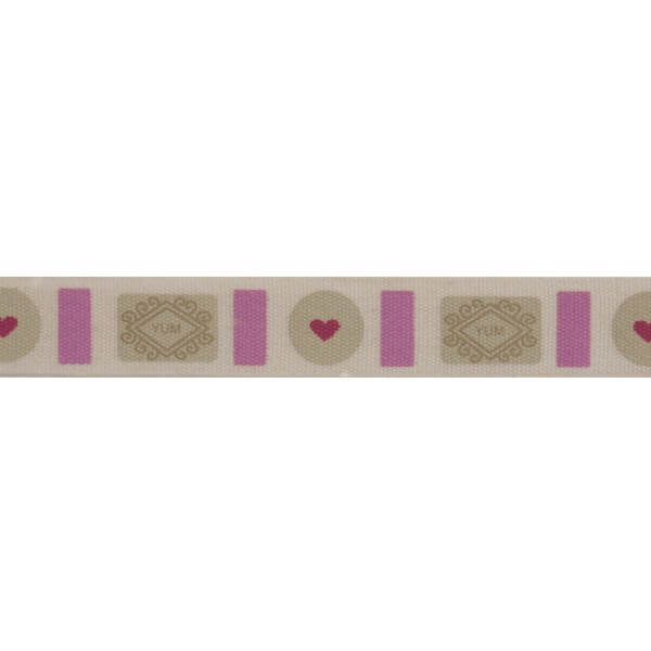 Bowtique Natural Classic Biscuits Ribbon 15mm x 5m Reel