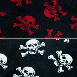 Skull and Crossbones Pirate Polar Fleece Anti Pil Fabric