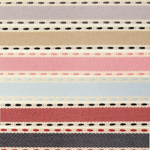 Natural Charms Christmas Vintage Stitch Berisfords Ribbon 4m x 15mm